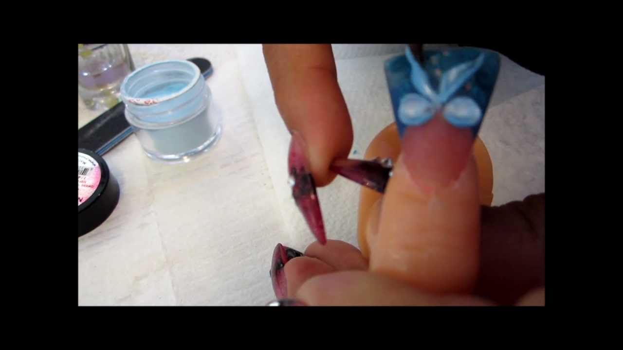 flared acrylic nails photo - 1