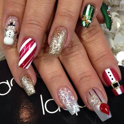 fly christmas coffin nails photo - 2