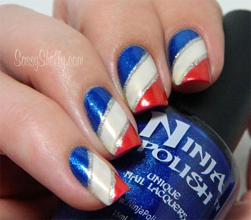 fourth of july acrylic nails photo - 1