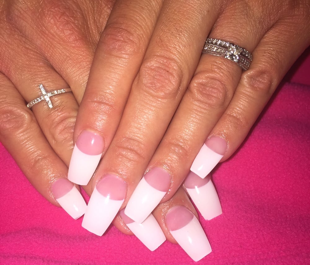 French coffin nails - Expression Nails