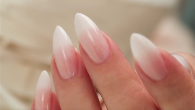 French fade gel nails - Expression Nails