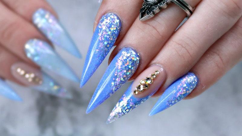 french stiletto nails photo - 1