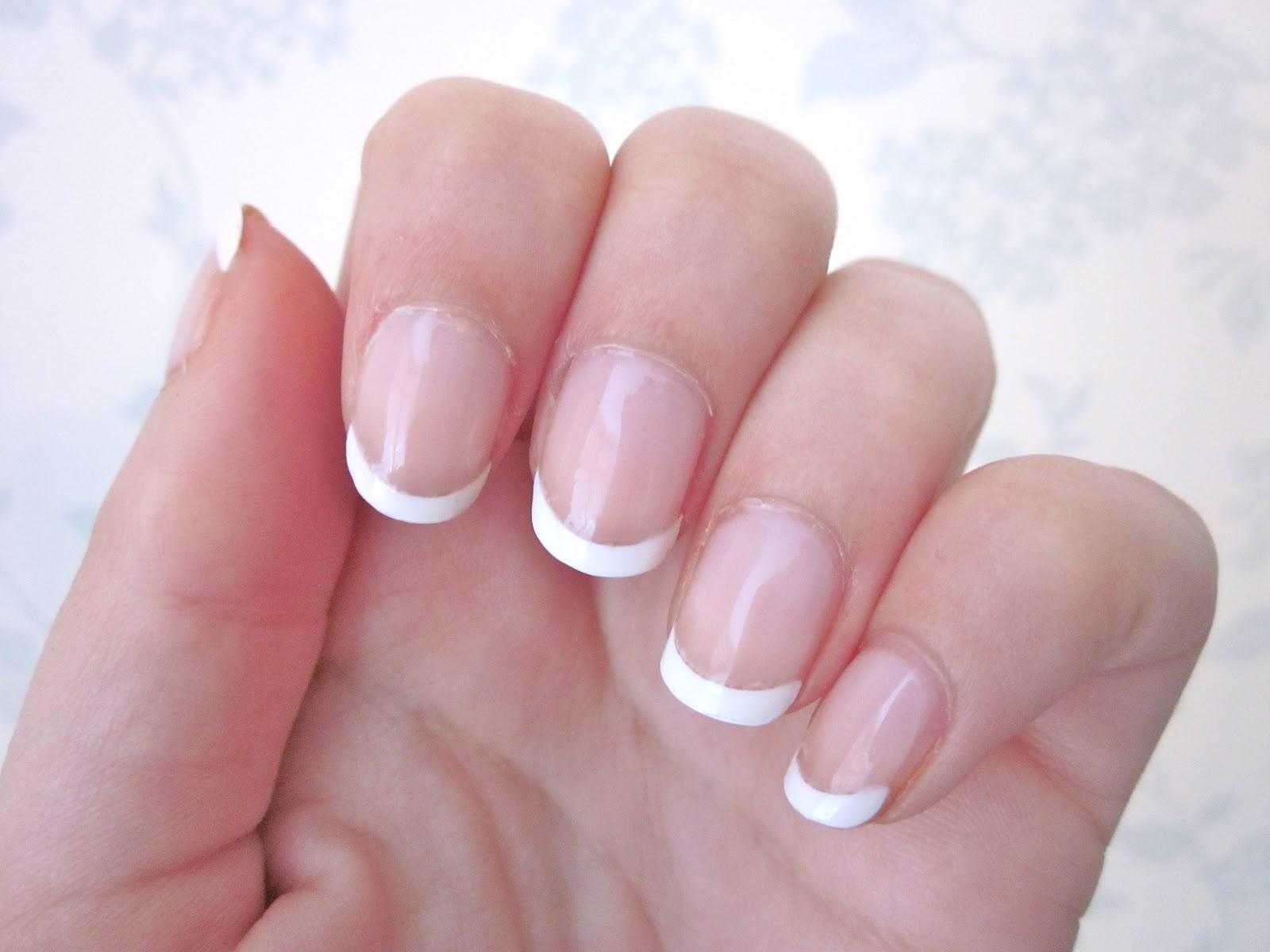 french tips nail vs gel nails photo - 1