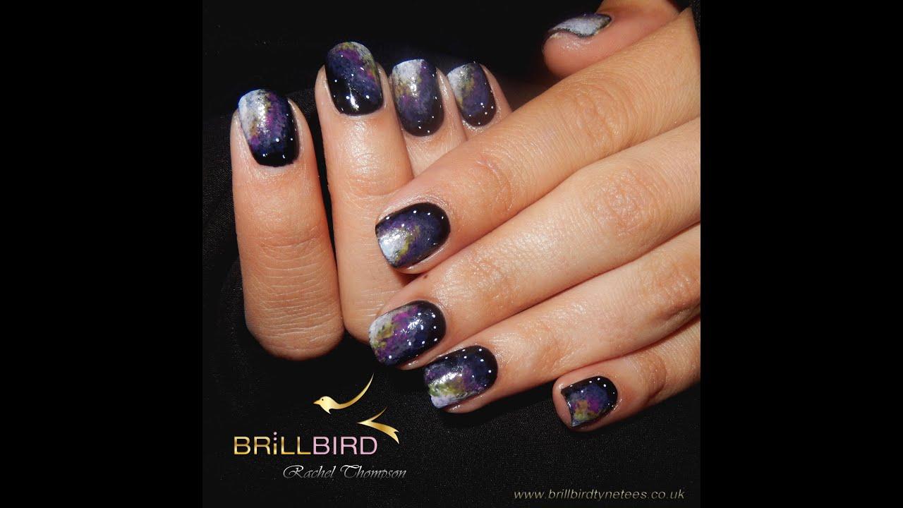 Galaxy gel nails - Expression Nails