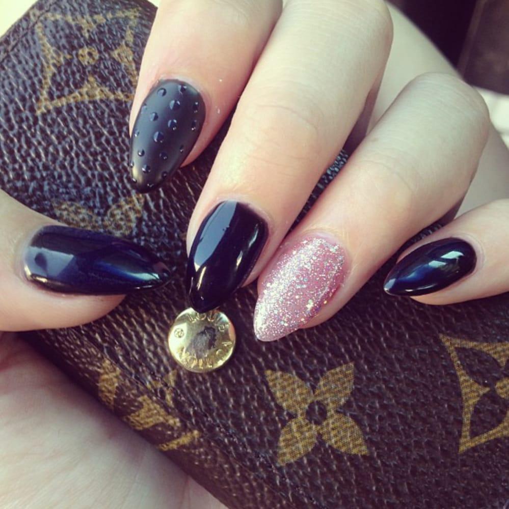 gel acrylic nails near me photo - 2