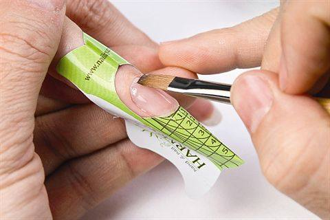 gel builder on natural nails photo - 1