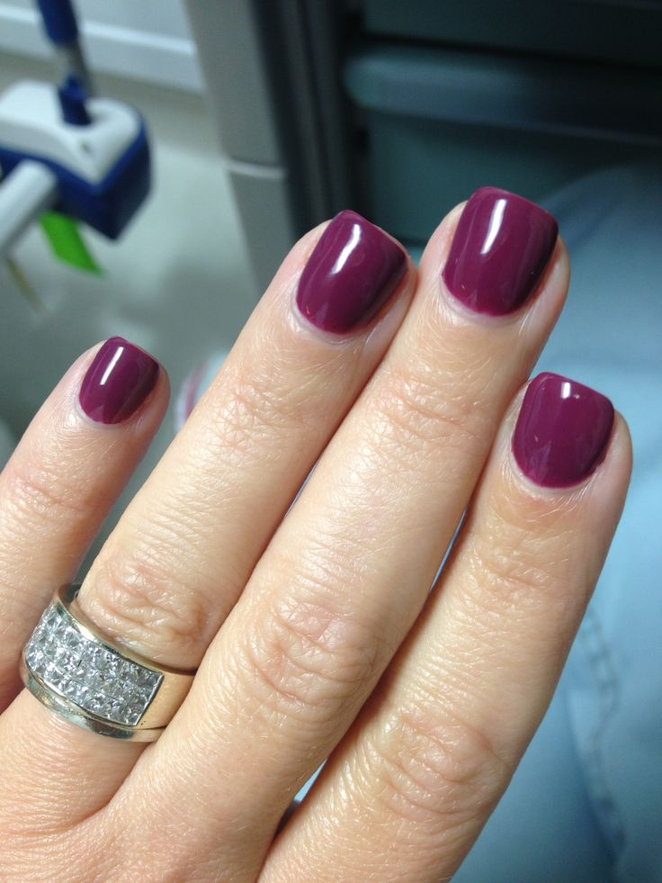 Gel color nails - Expression Nails