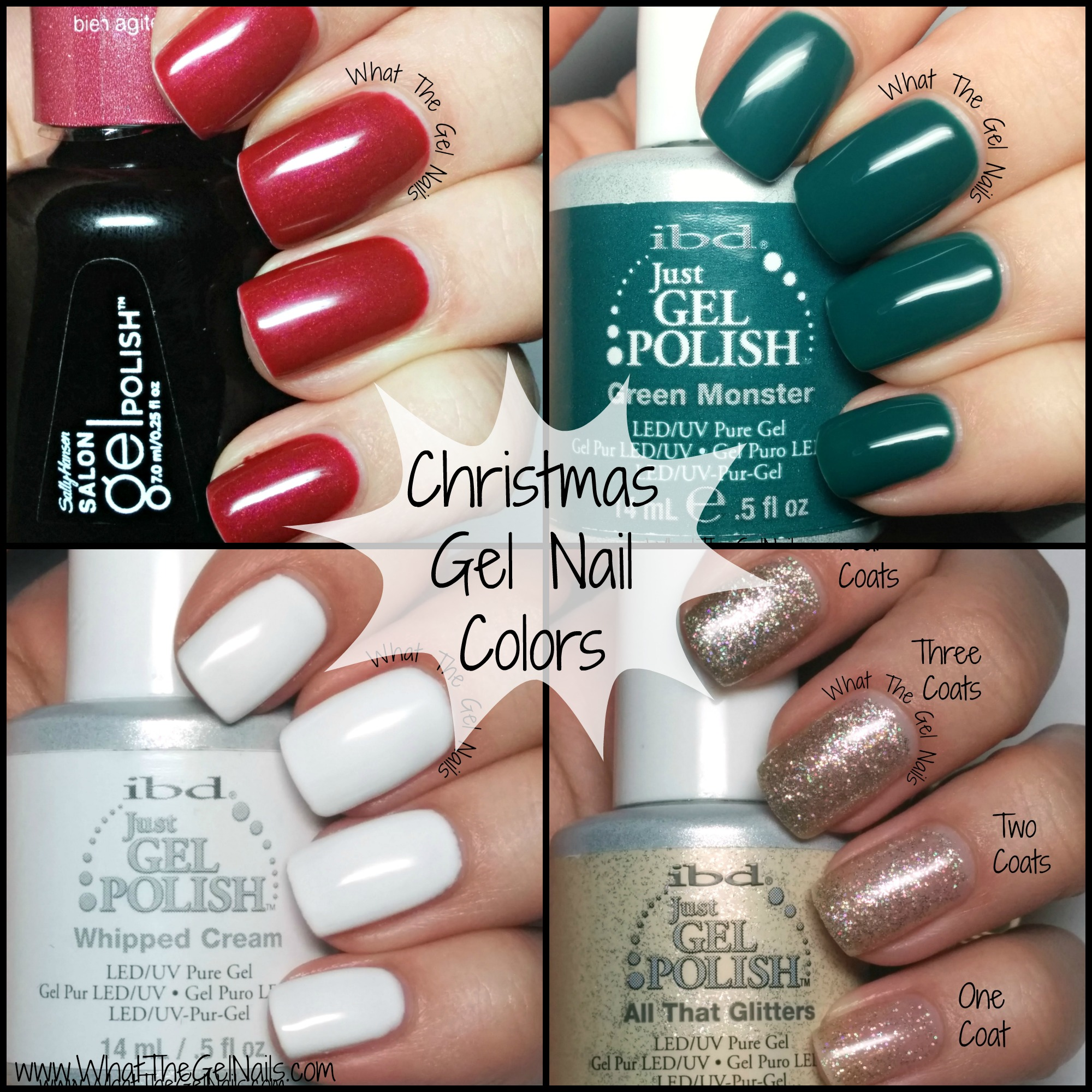 gel color nails photo - 2
