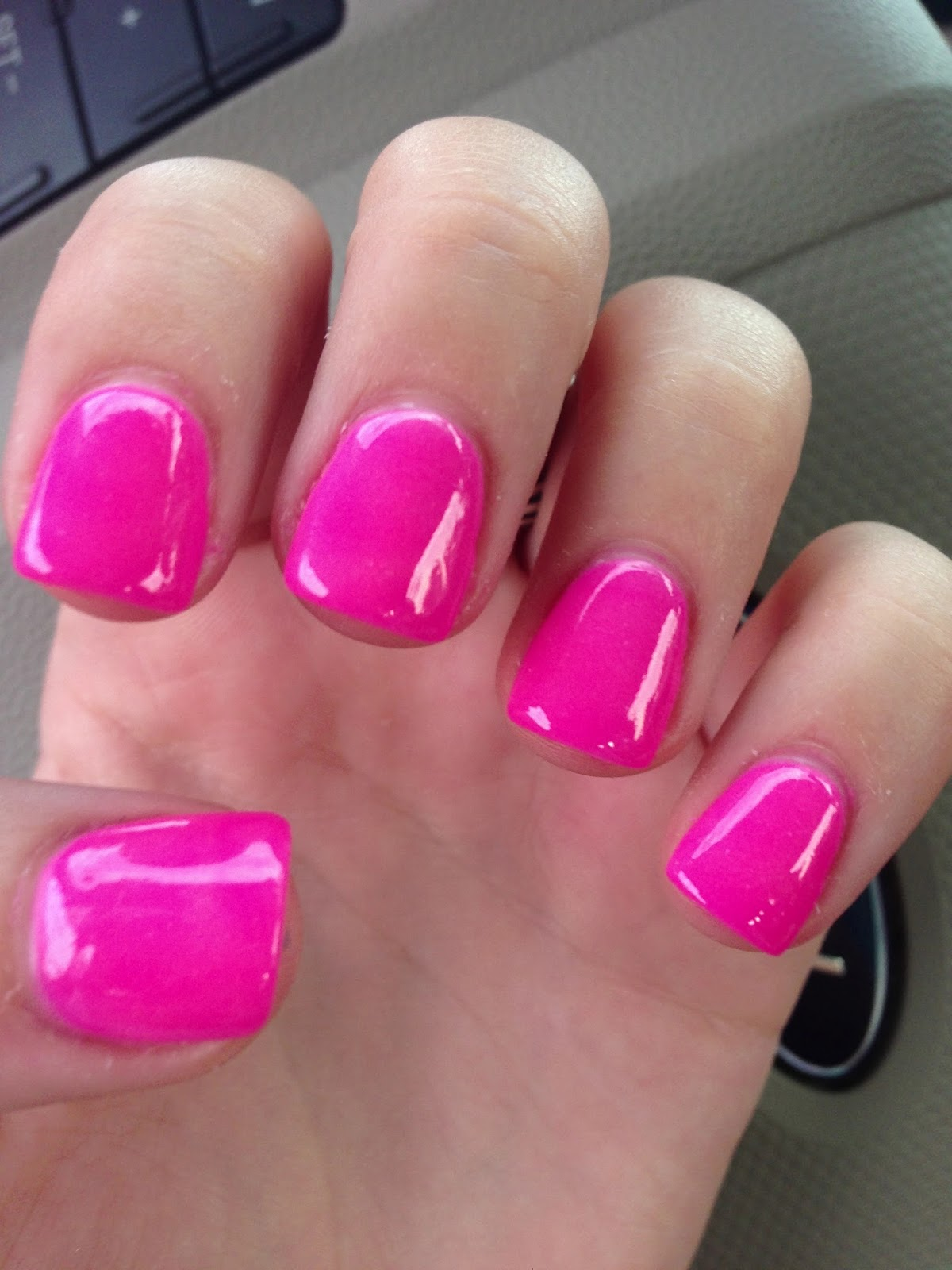 gel dipped nails photo - 1