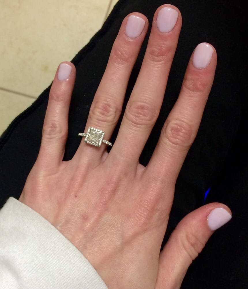 Gel dipped nails - Expression Nails