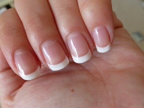 Gel french nails - Expression Nails