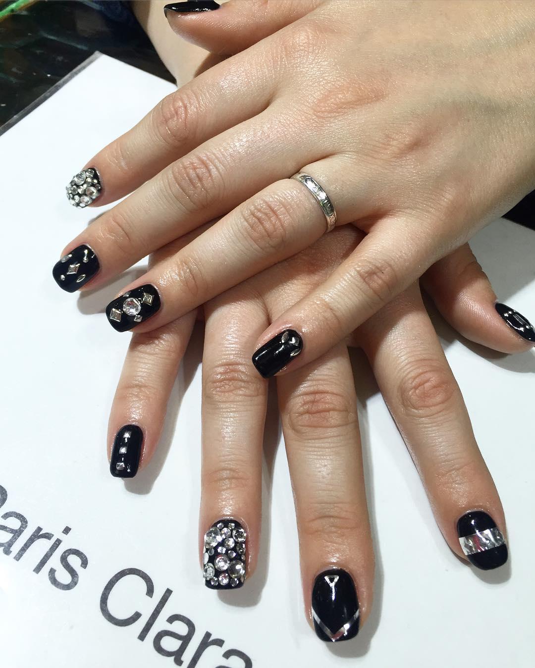 gel nail designs photo - 1