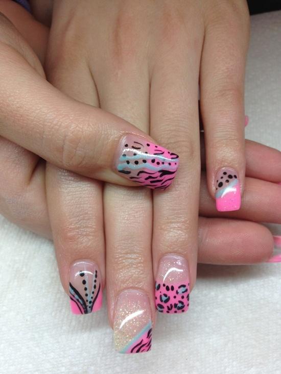 gel nail designs photo - 2