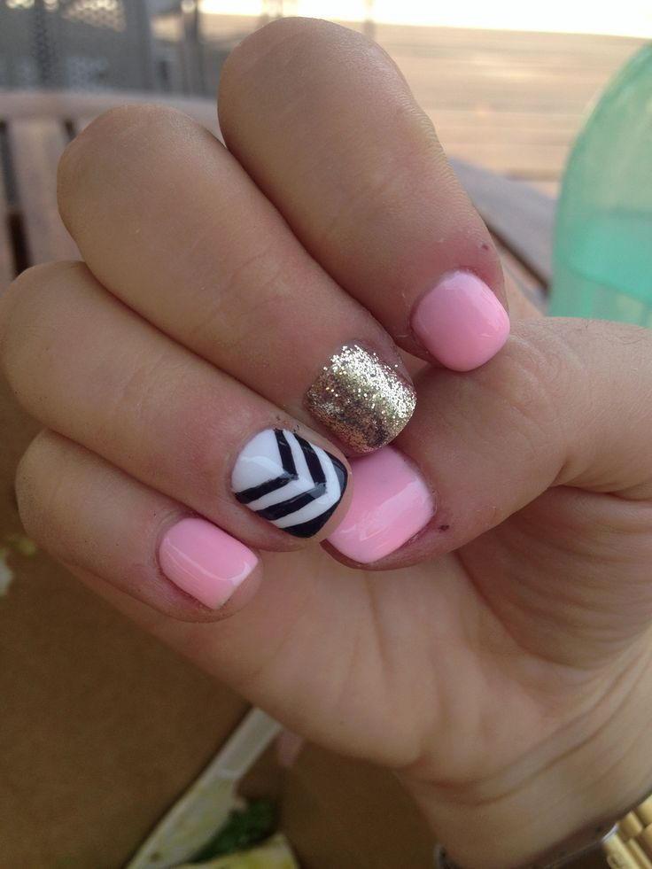Gel Nail Designs For Short Nails Expression Nails