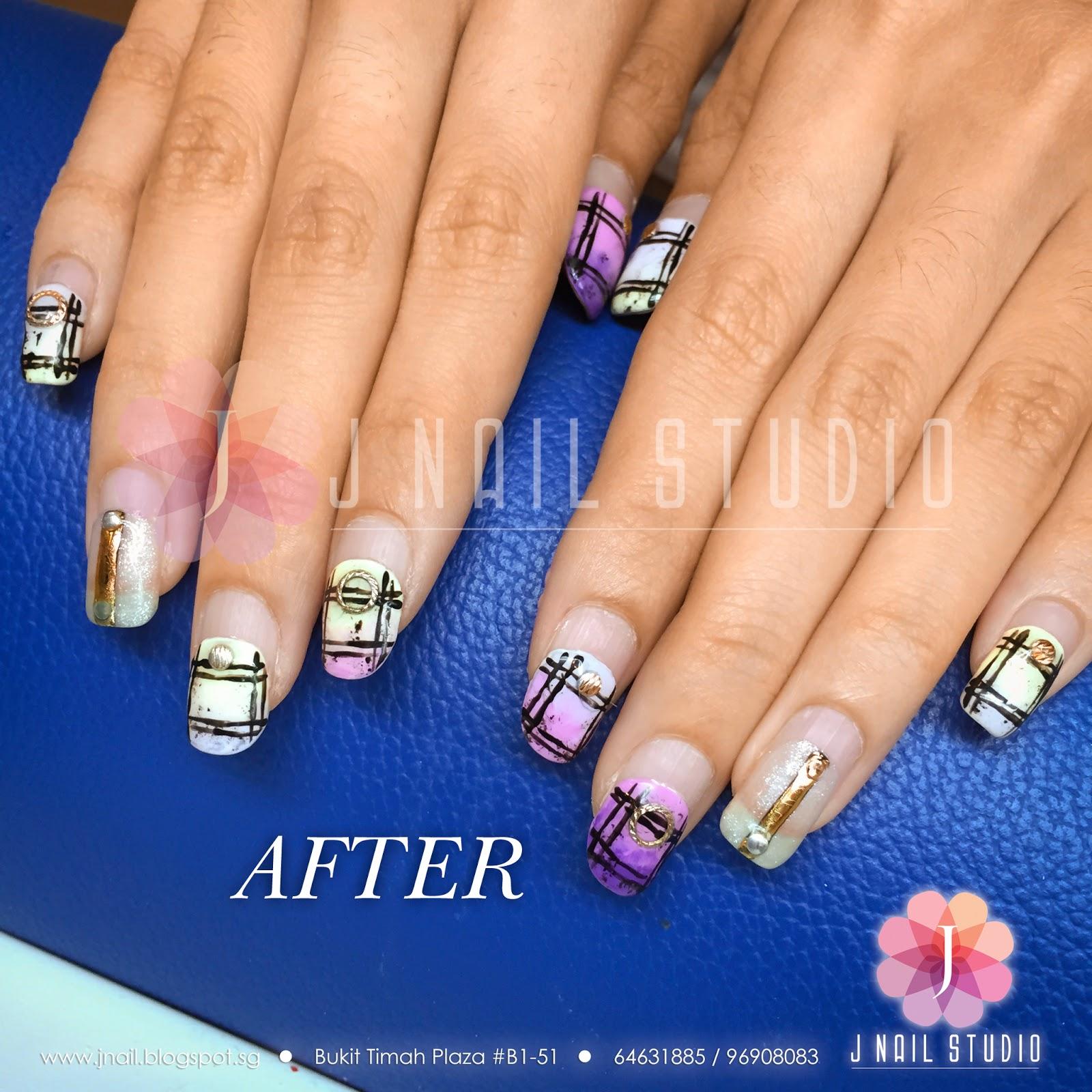 Gel Nails 3 Weeks Photo