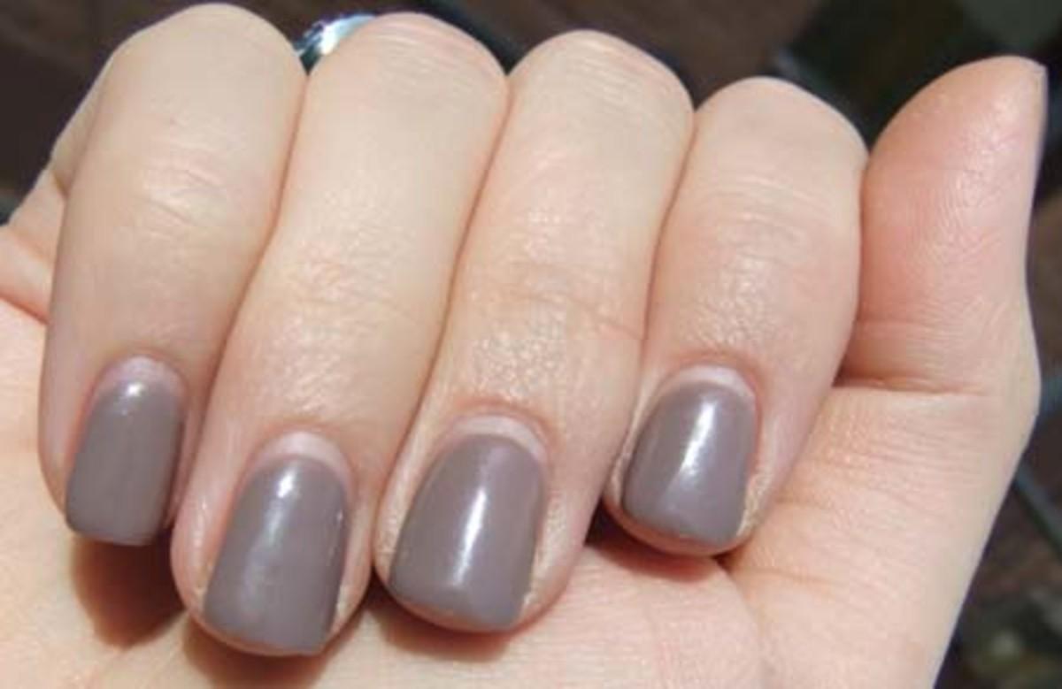 gel nails 3 weeks photo - 2