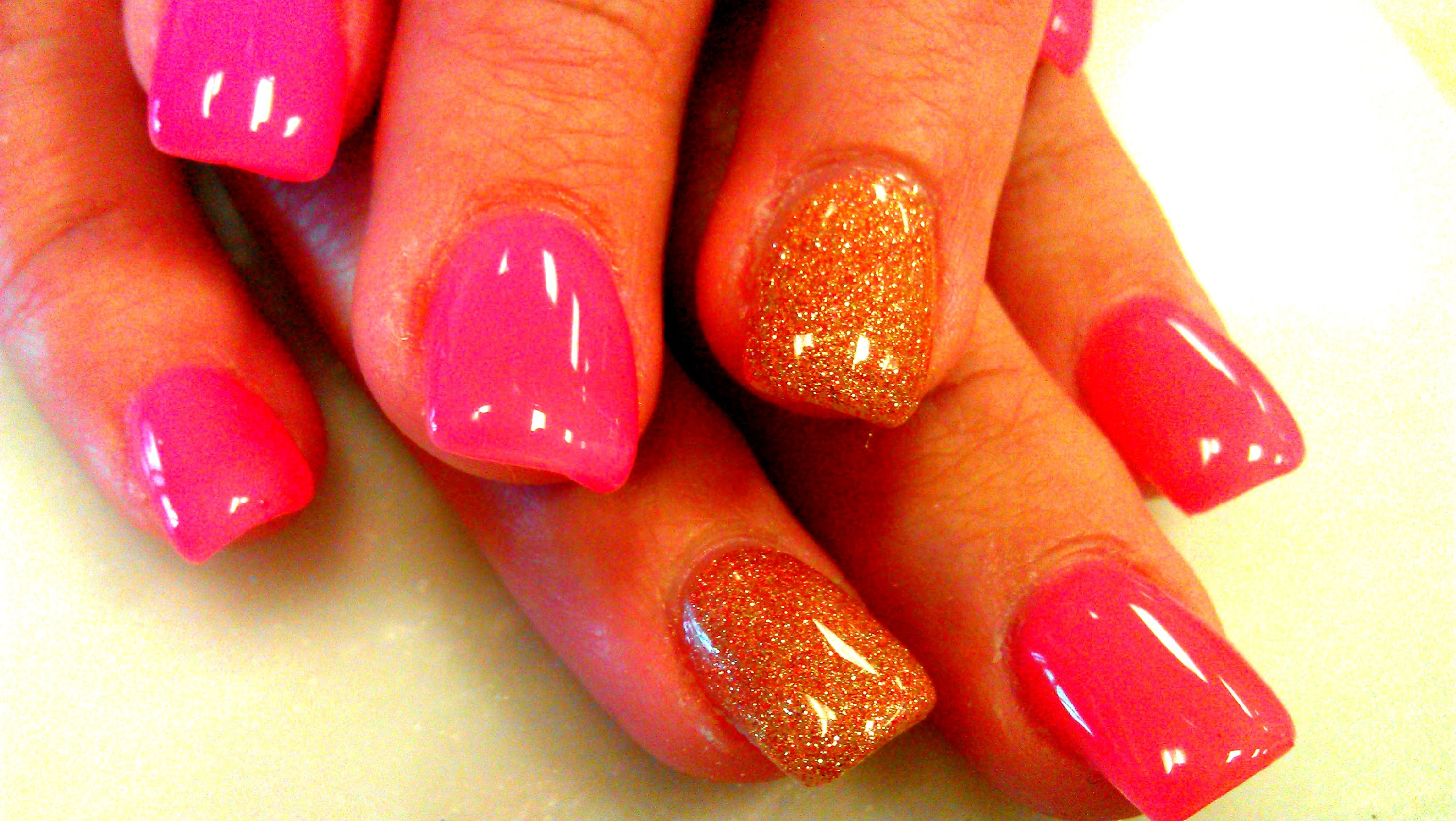 gel nails acrylic cost photo - 2
