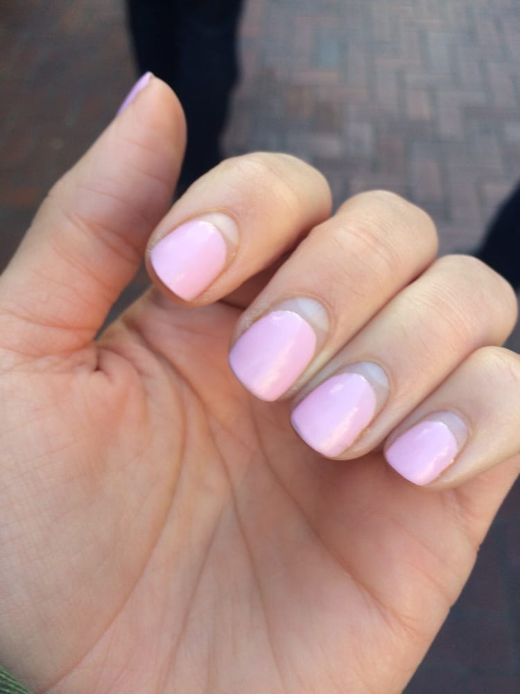 gel nails after 1 month photo - 2