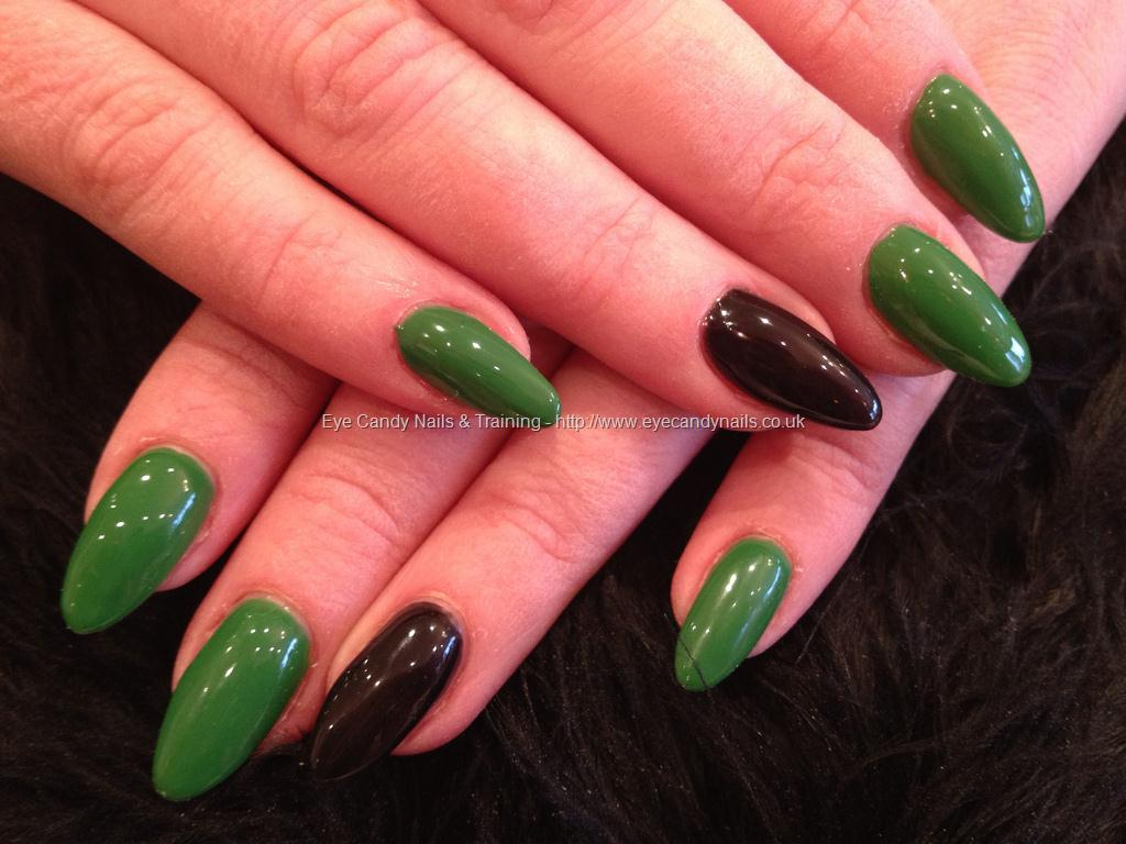 gel nails almond designs photo - 2