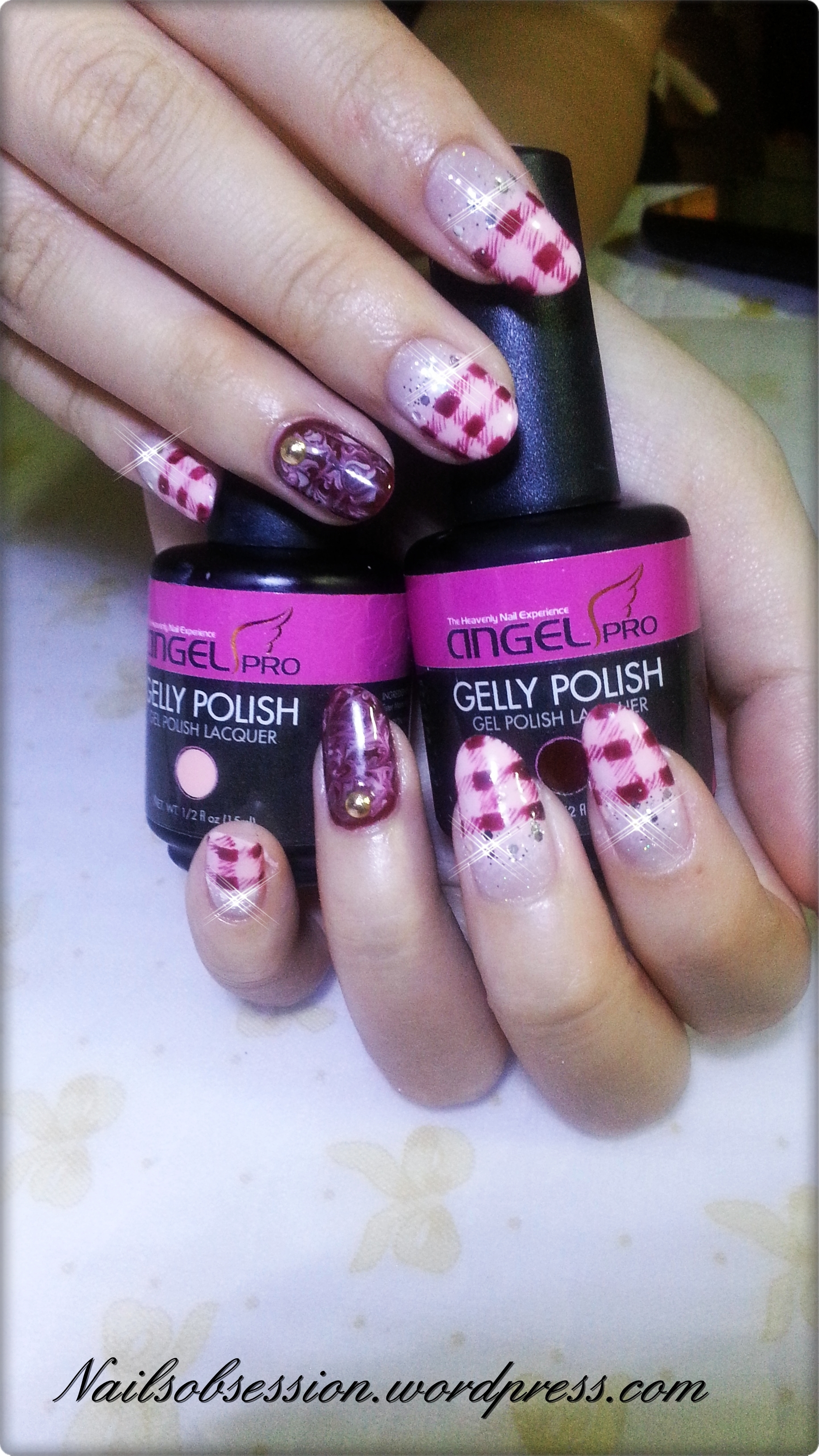 gel nails are sticky photo - 1