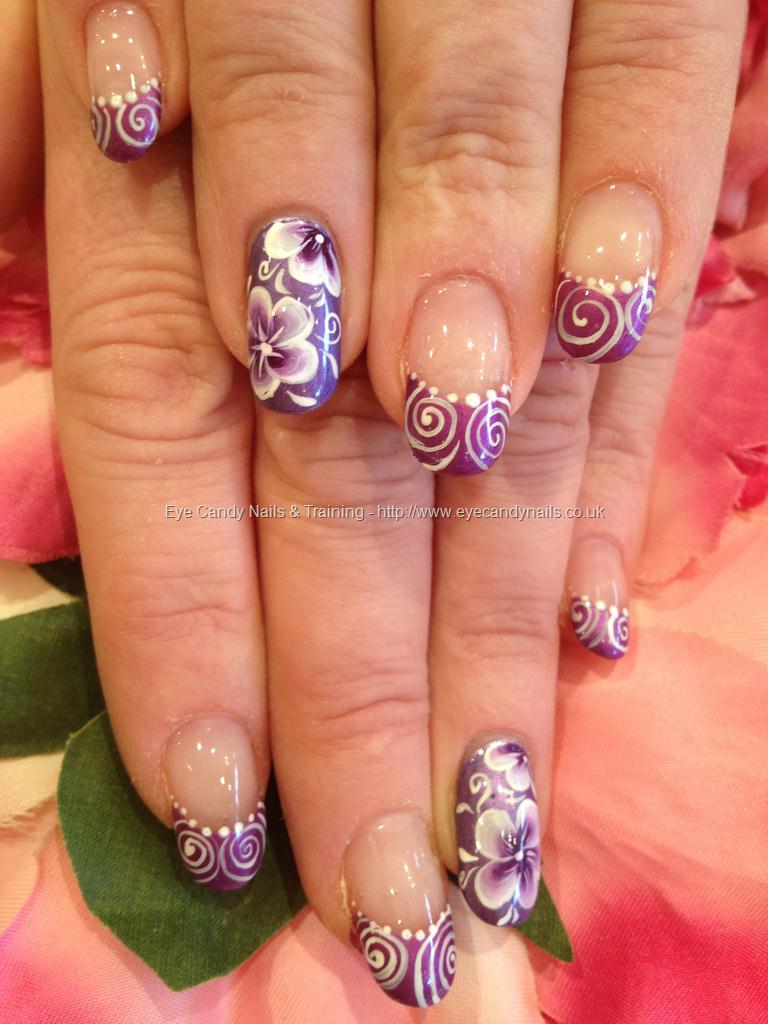 gel nails art pictures photo - 1