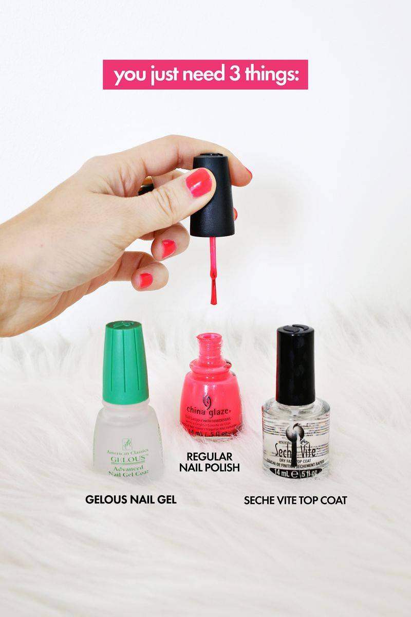 Gel nails at home supplies - Expression Nails