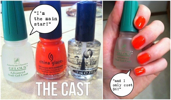 gel nails at home without uv light photo - 1