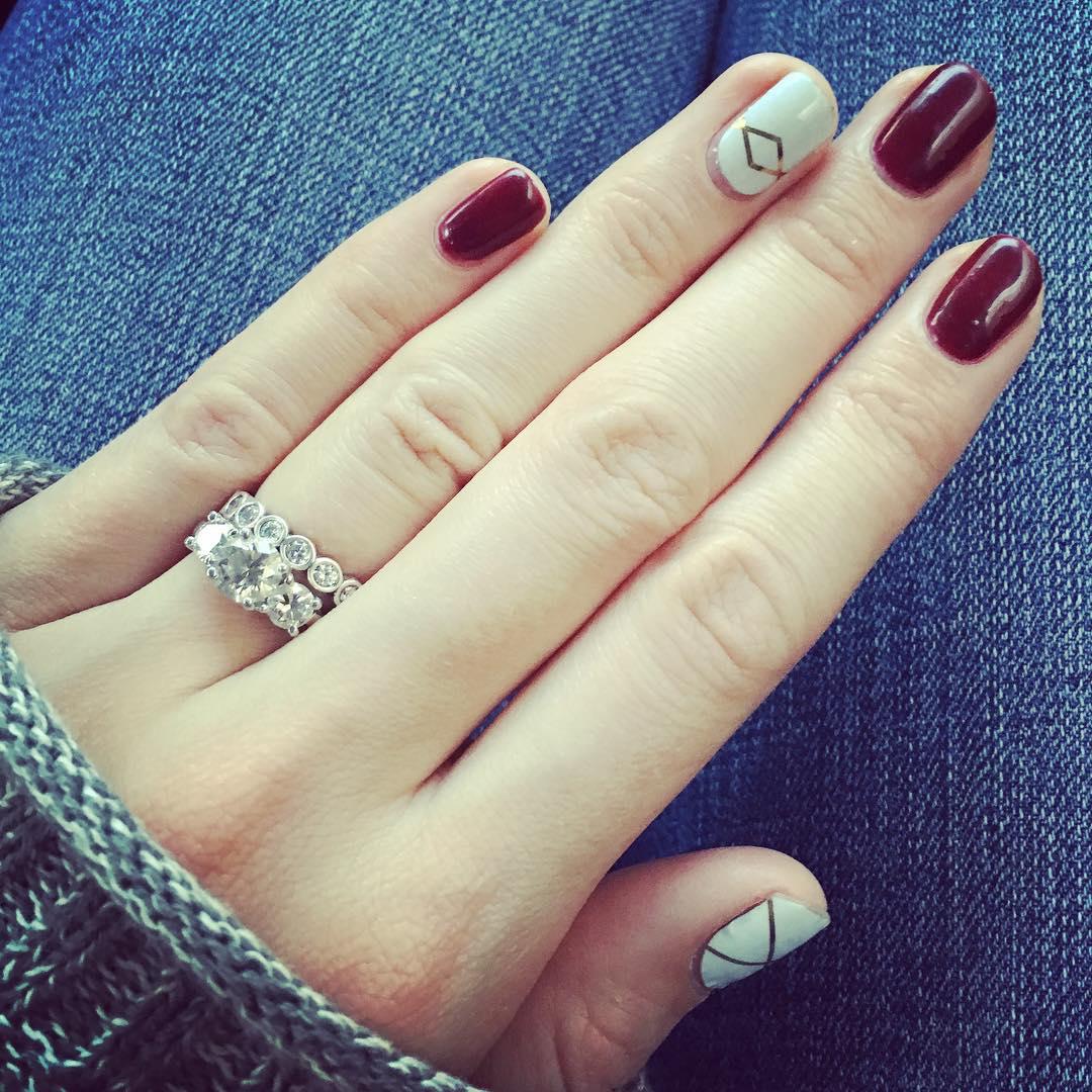 gel nails designs fall photo - 1