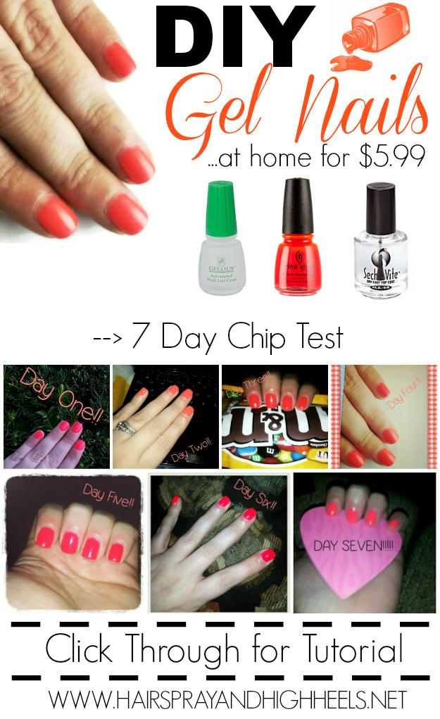 gel nails diy photo - 2