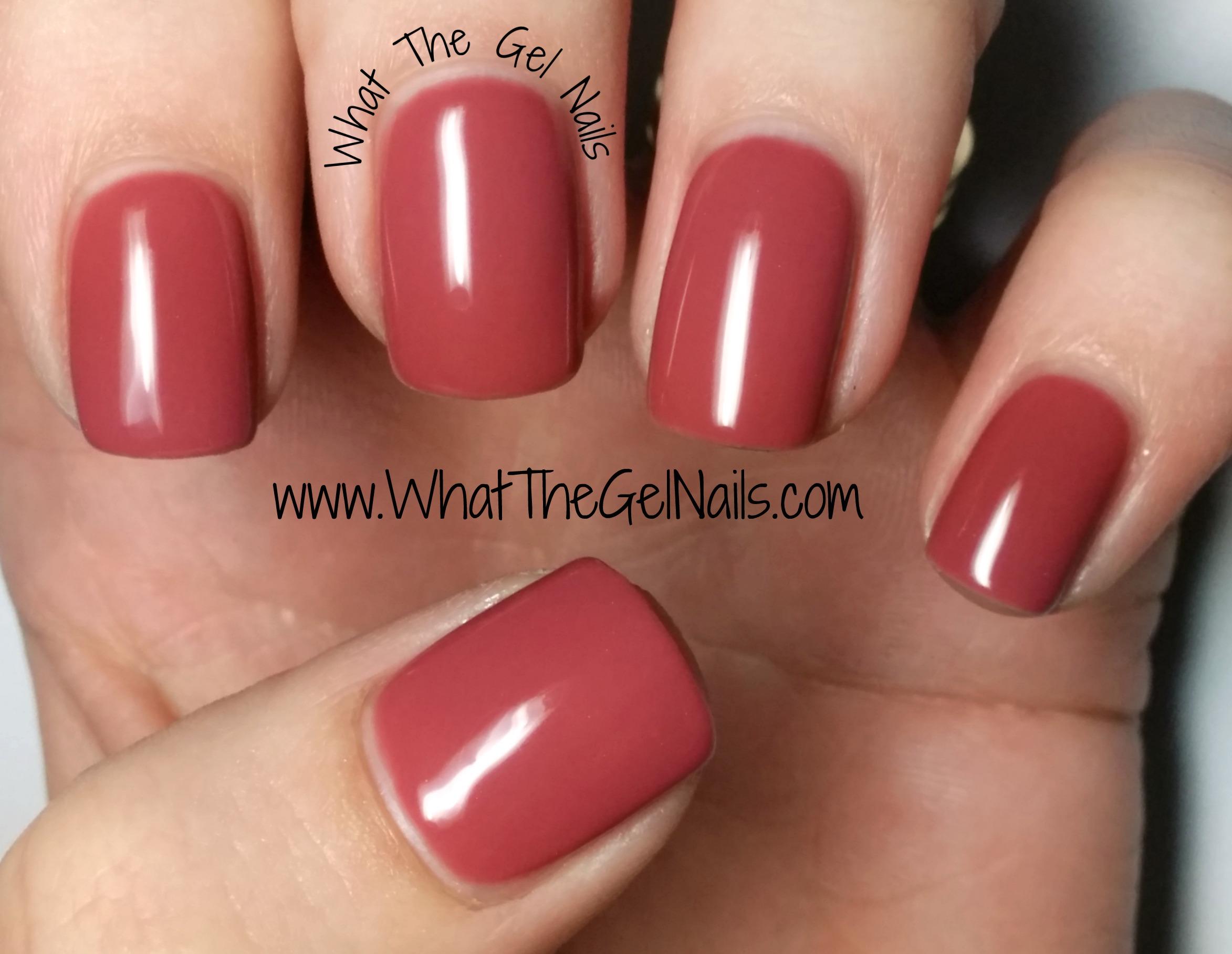 gel nails fall colors photo - 2