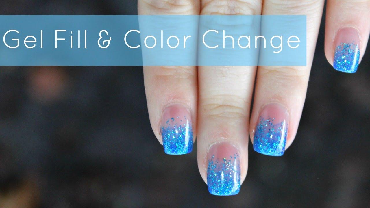 Gel nails fill - Expression Nails