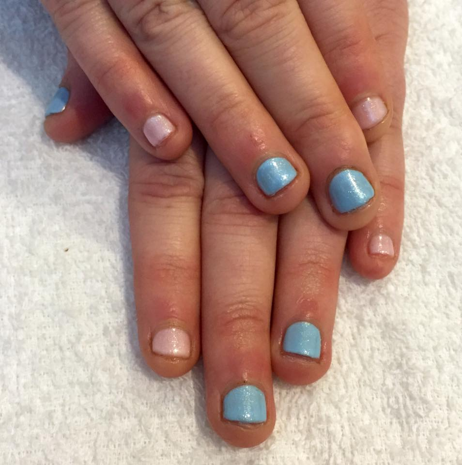 gel nails for nail biters photo - 2