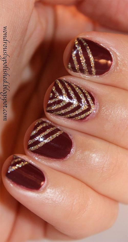 gel nails for nye photo - 1