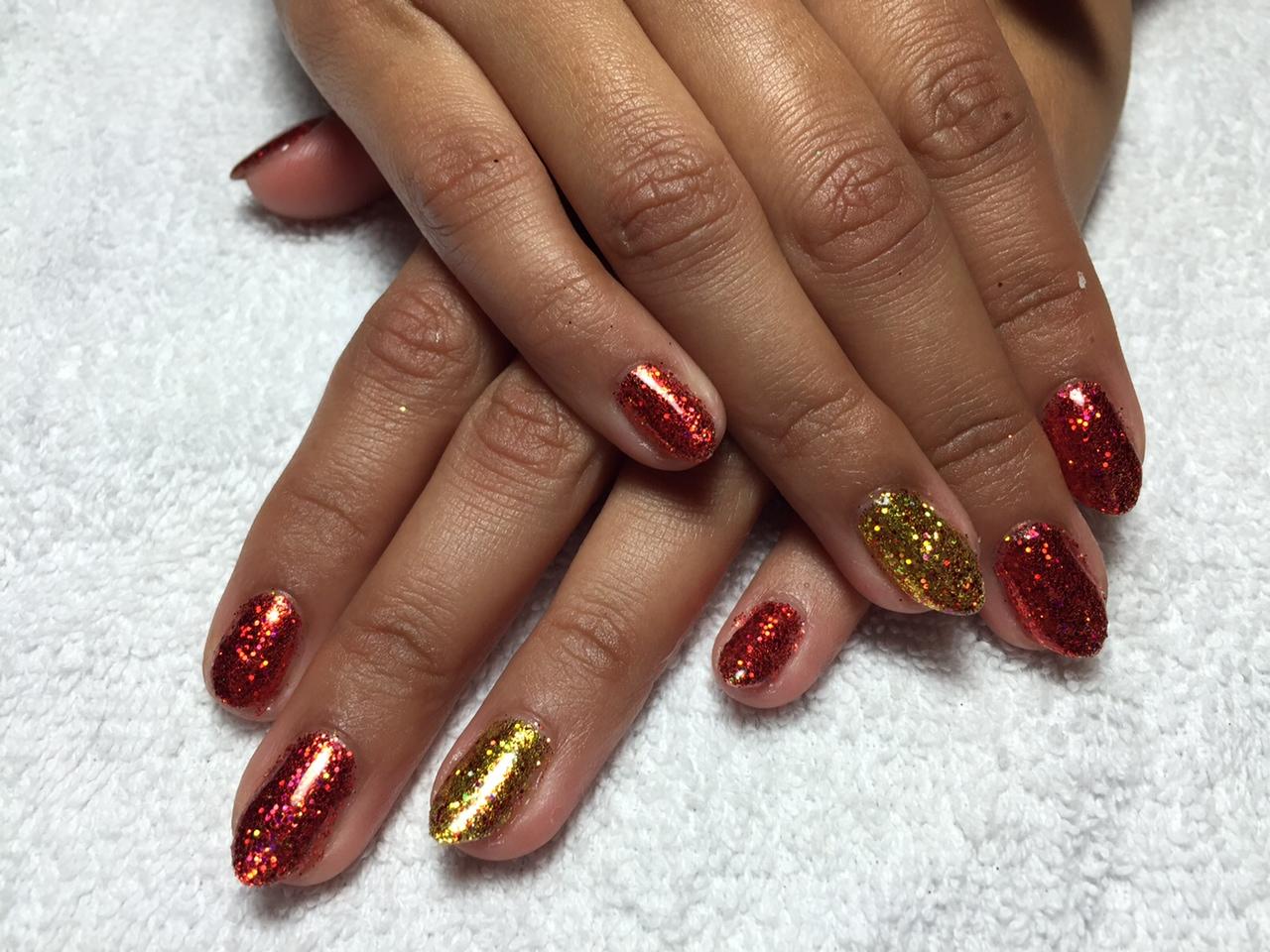 gel nails for nye photo - 2