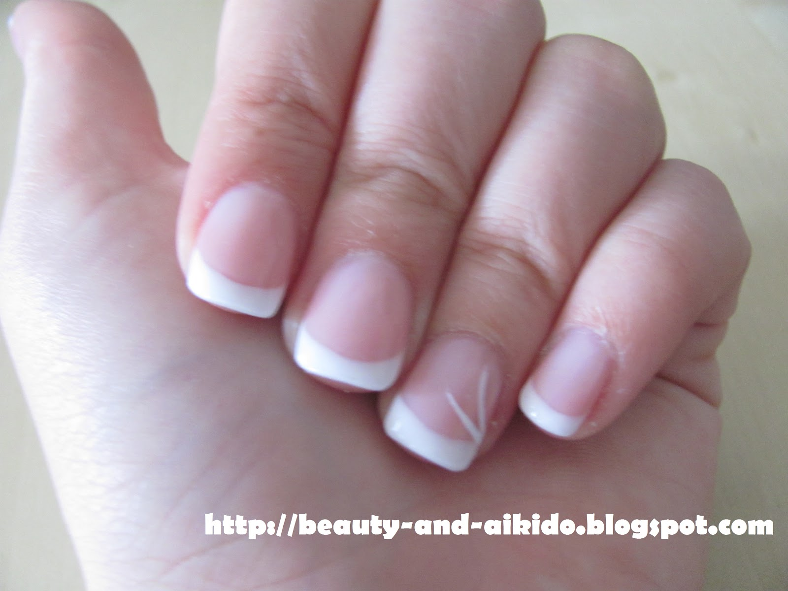 Gel nails french manicure - Expression Nails