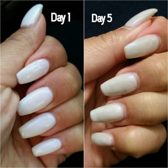 gel nails getting dirty photo - 1