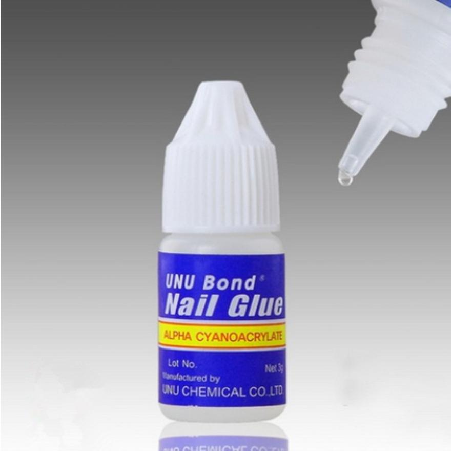 gel nails glue on photo - 1