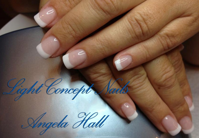 gel nails like light concept nails photo - 1