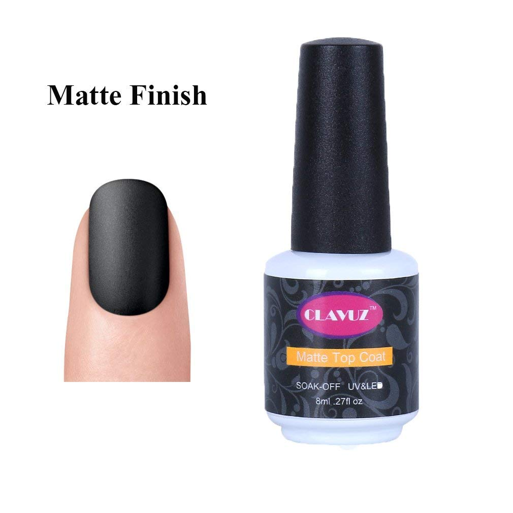 gel nails matte finish photo - 1