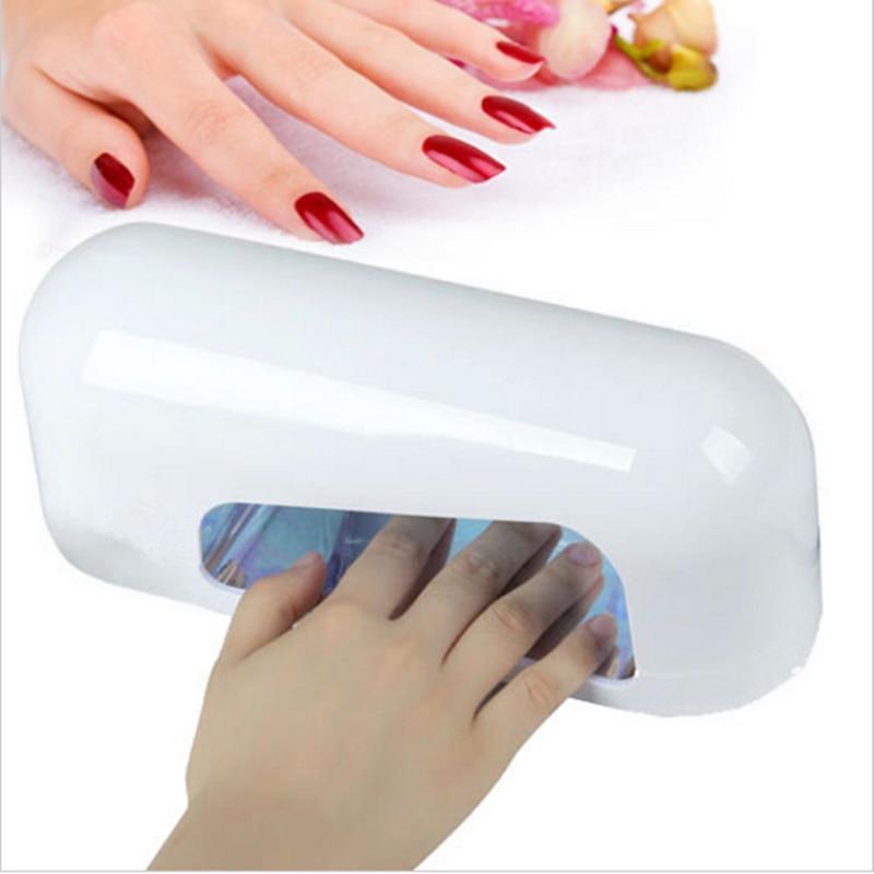 gel nails not enough uv light at salon photo - 1