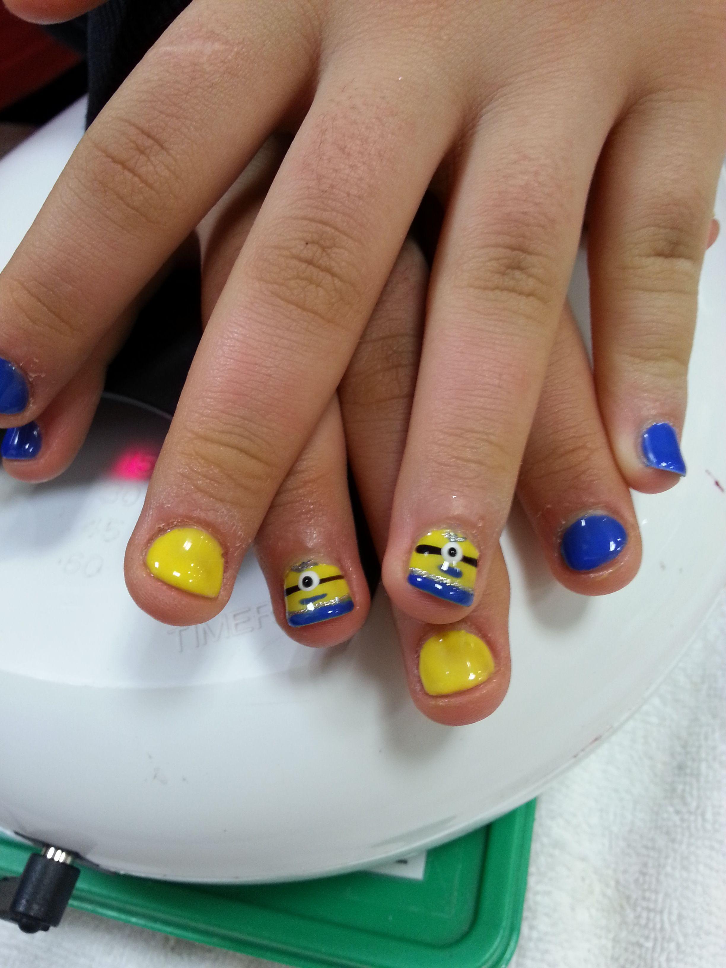 gel nails on kids photo - 1