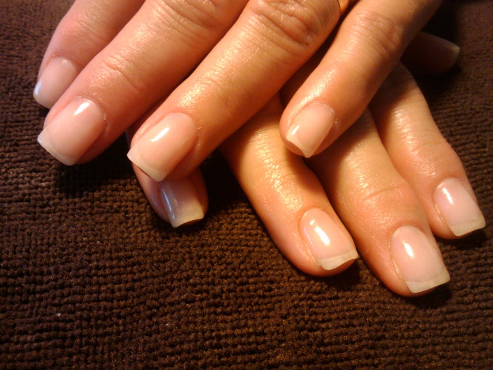 gel nails on natural nails photo - 1