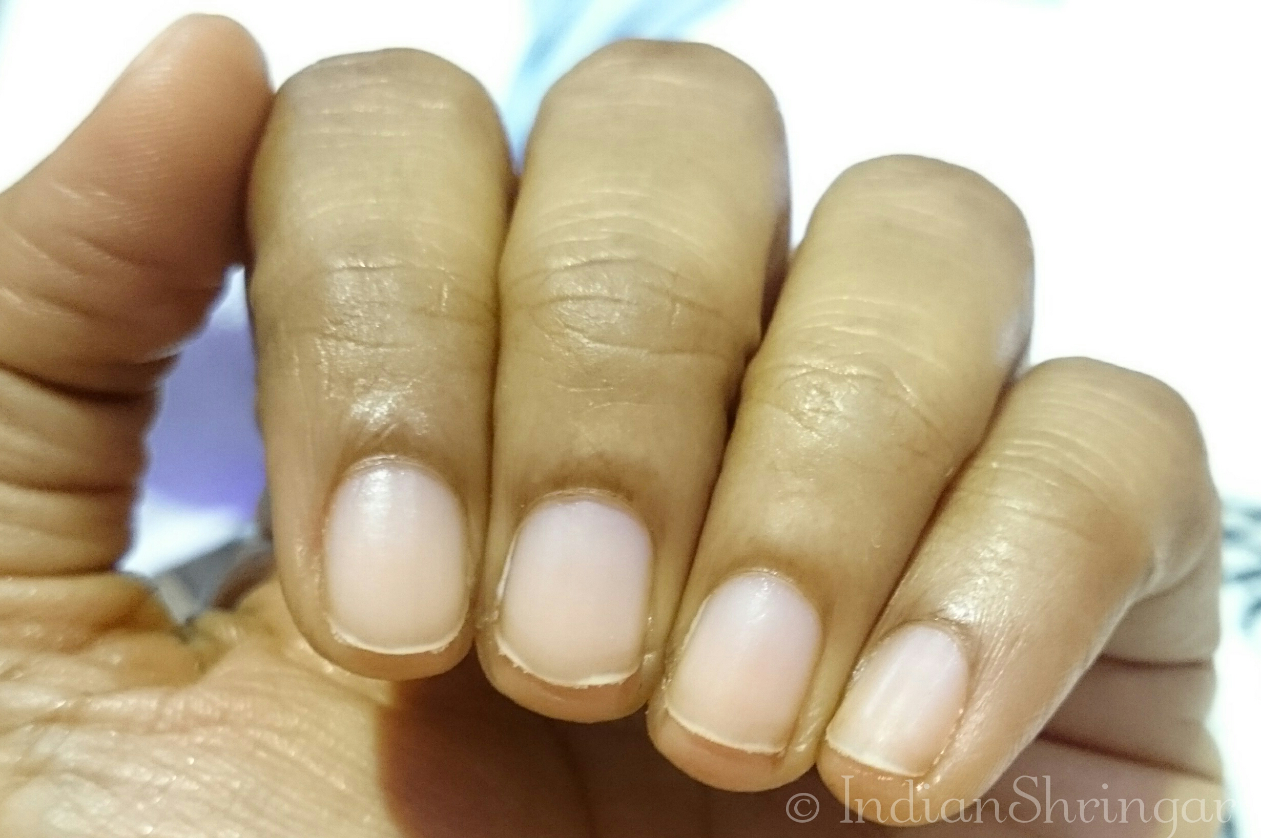 Gel Nails Procedure Expression Nails