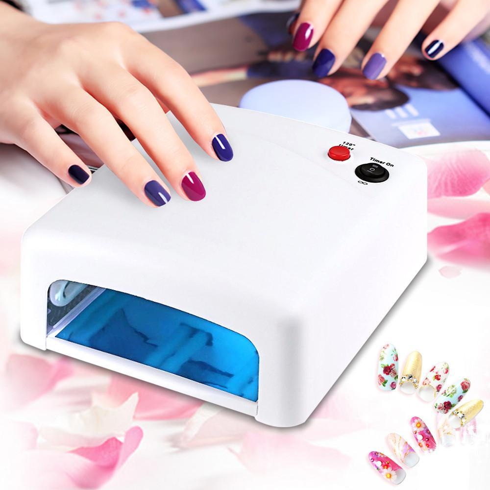 gel nails ultraviolet light photo - 2