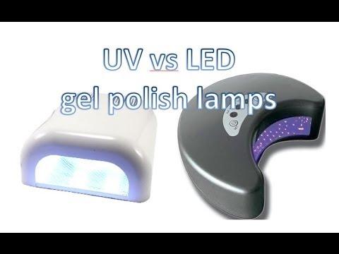 gel nails uv vs led photo - 1