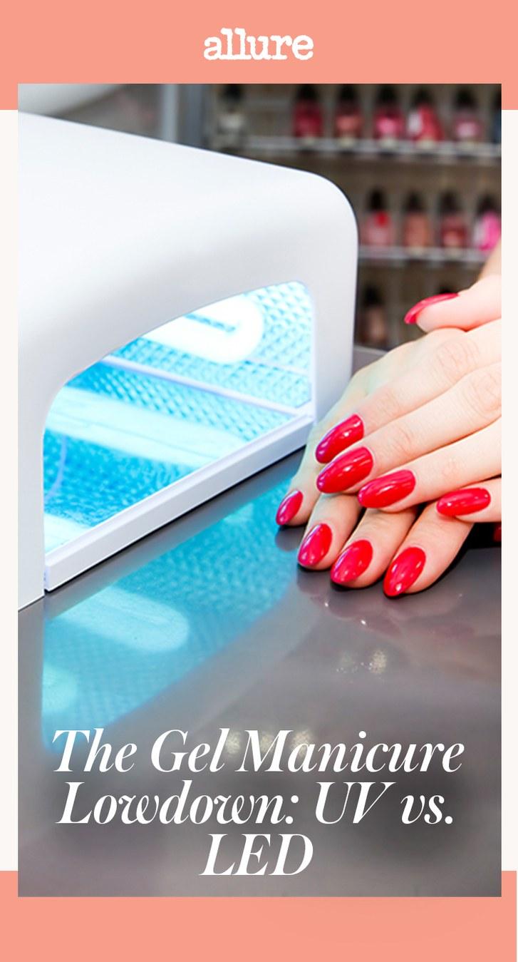 gel nails uv vs led photo - 2