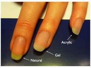 gel nails vs acrylic nails vs shellac photo - 2