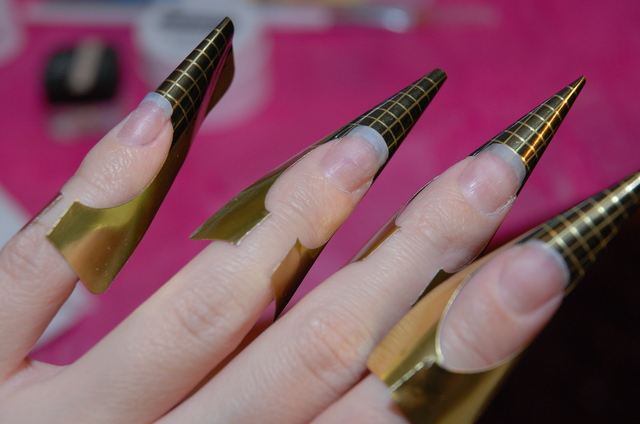 gel nails with form photo - 1