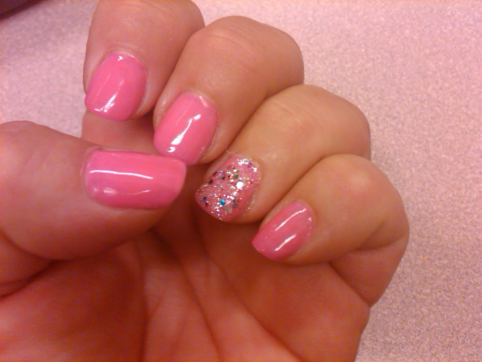 gel nails with form photo - 2