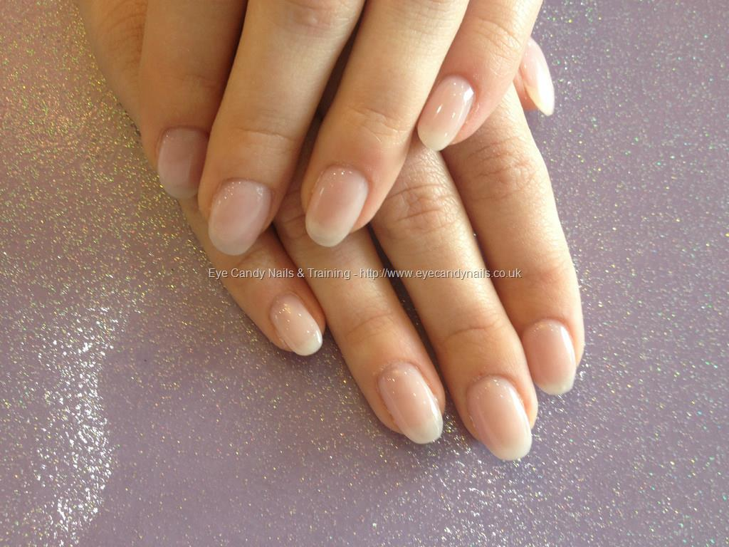 gel overlay on natural nails at home photo - 2